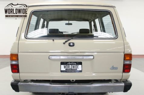 1983 Toyota LAND CRUISER FJ60 91K ORIGINAL MILES COLLECTOR GRADE CA CAR | Denver, CO | Worldwide Vintage Autos in Denver, CO
