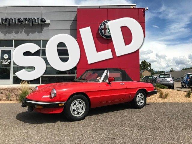 1984 Alfa Romeo Spider Veloce Veloce in Albuquerque New Mexico, 87109