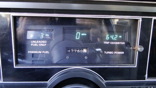 "1984 Buick Turbo 1 OF 1163  ""WH1""  T-Type 3.8 SFI ""RARE"" Phoenix, Arizona 29"