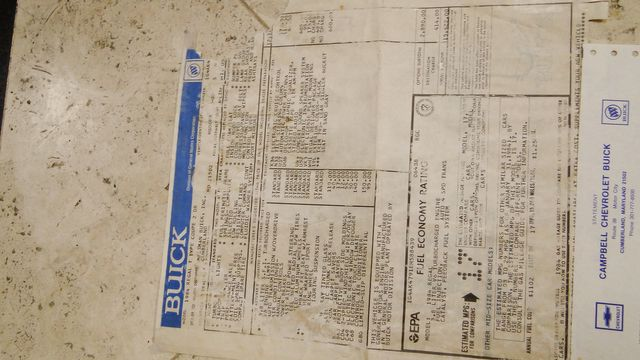 "1984 Buick Turbo 1 OF 1163  ""WH1""  T-Type 3.8 SFI ""RARE"" Phoenix, Arizona 32"