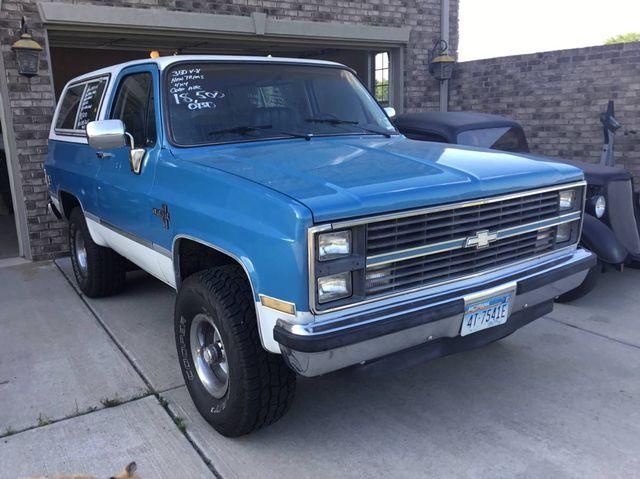 1984 Chevrolet Blazer K10 Utility HT