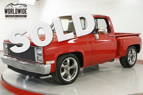 1984 Chevrolet C10 350 V8 AUTO ALUMINUM HEADS PS PB WOOD BED  | Denver, CO | Worldwide Vintage Autos in Denver, CO