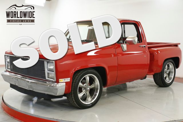 1984 Chevrolet C10 350 V8 AUTO ALUMINUM HEADS PS PB WOOD BED  | Denver, CO | Worldwide Vintage Autos in Denver CO