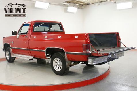 1984 Chevrolet K10 PICKUP TRUCK 4X4 PS PB 350 SMALL BLOCK  | Denver, CO | Worldwide Vintage Autos in Denver, CO