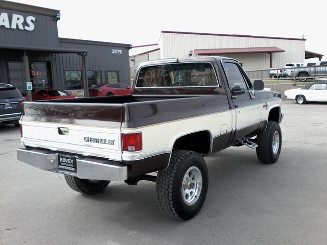 1984 Chevrolet k 10 Silverado 4X4 Boerne, Texas 5