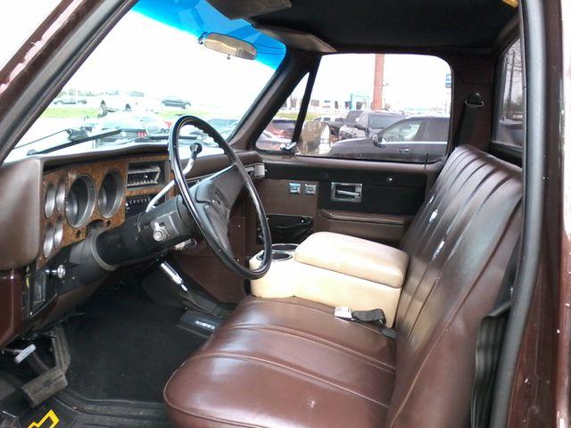 1984 Chevrolet k 10 Silverado 4X4 Boerne, Texas 8