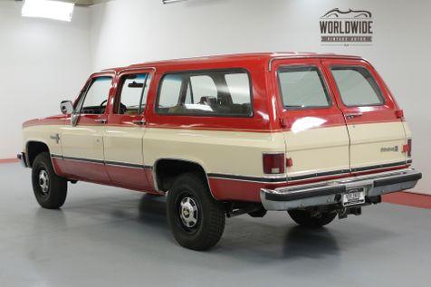 1984 Chevrolet SUBURBAN 2500 350 AUTO 72K MILES! 4X4 RARE COLLECTOR PS PB  | Denver, CO | Worldwide Vintage Autos in Denver, CO
