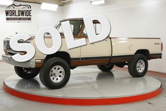 1984 Dodge RAM 250 3/4 TON AXLE 4x4 CA TRUCK RARE 360 V8 PS PB  | Denver, CO | Worldwide Vintage Autos in Denver CO