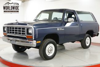 1984 Dodge RAMCHARGER V8 TIME CAPSULE 1OWNER HEAVILY DOCUMENTED | Denver, CO | Worldwide Vintage Autos in Denver CO