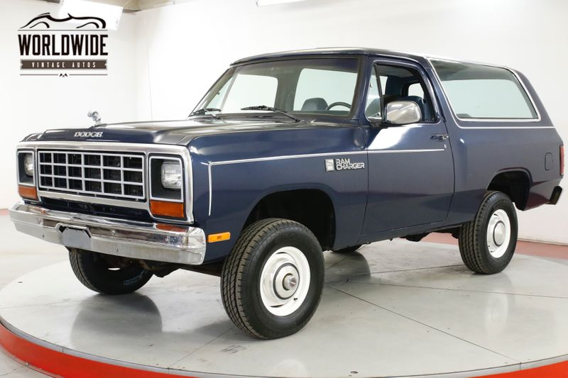 1984 Dodge RAMCHARGER V8 TIME CAPSULE 1OWNER HEAVILY DOCUMENTED | Denver, CO | Worldwide Vintage Autos