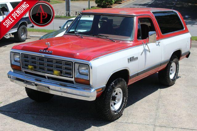 1984 Dodge Ramcharger RARE ROYAL SE REMAN 360 V8