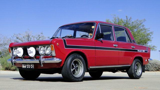 1974 Fiat POLSKI 1800 AKROPILIS RALLY CAR Phoenix, Arizona 16