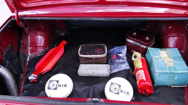 1974 Fiat POLSKI 1800 AKROPILIS RALLY CAR Phoenix, Arizona 22