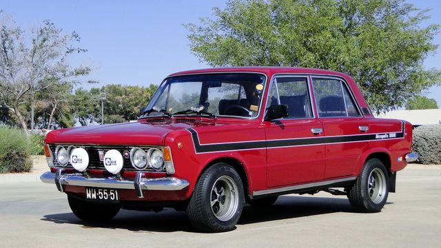 1974 Fiat POLSKI 1800 AKROPILIS RALLY CAR Phoenix, Arizona 13