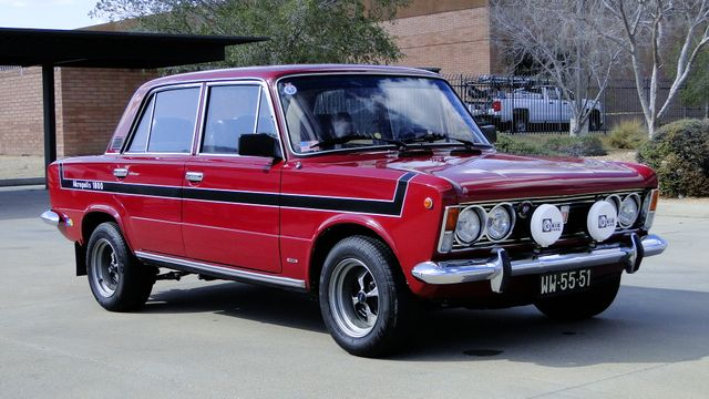 1974 Fiat POLSKI 1800 AKROPILIS RALLY CAR Phoenix, Arizona 12