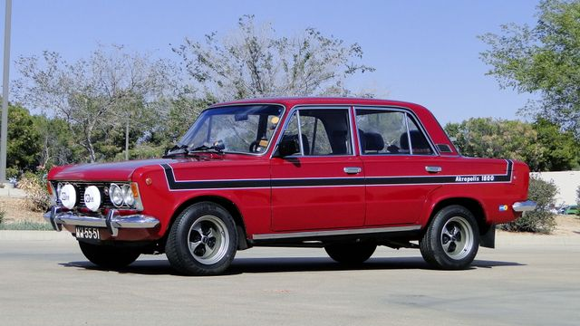 1974 Fiat POLSKI 1800 AKROPILIS RALLY CAR Phoenix, Arizona 0