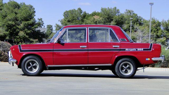 1974 Fiat POLSKI 1800 AKROPILIS RALLY CAR Phoenix, Arizona 11