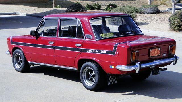 1974 Fiat POLSKI 1800 AKROPILIS RALLY CAR Phoenix, Arizona 14