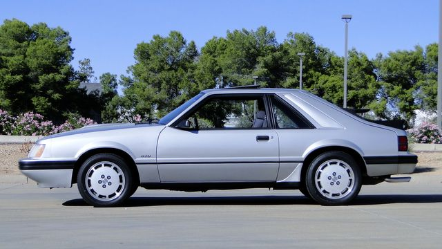 1984 Ford Mustang Turbo SVO 34,000 orig miles Phoenix, Arizona 17