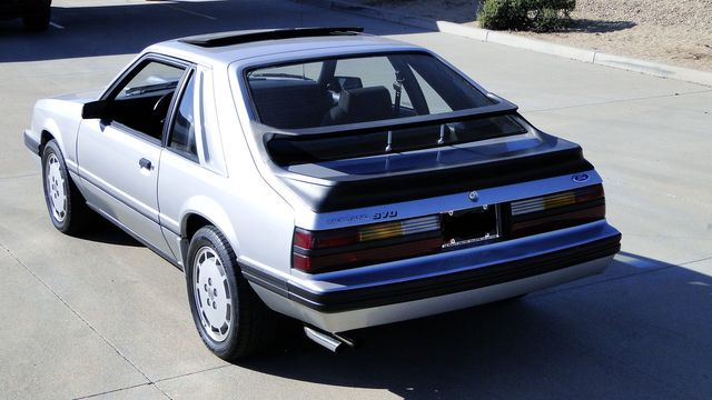 1984 Ford Mustang Turbo SVO 34,000 orig miles Phoenix, Arizona 22