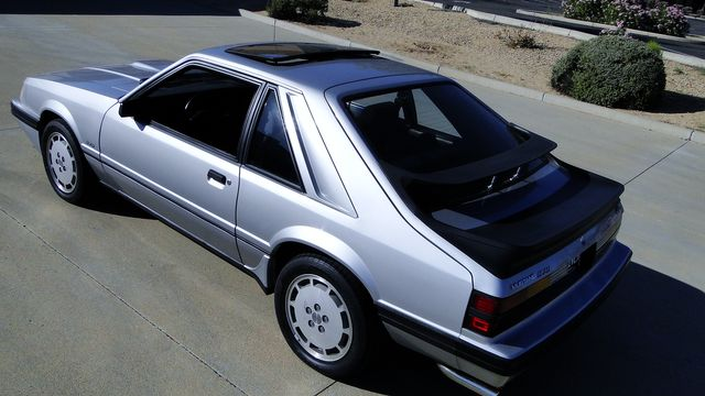 1984 Ford Mustang Turbo SVO 34,000 orig miles Phoenix, Arizona 9