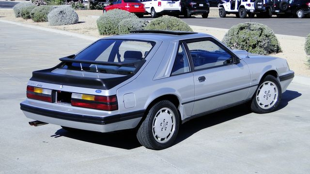 1984 Ford Mustang Turbo SVO 34,000 orig miles Phoenix, Arizona 8