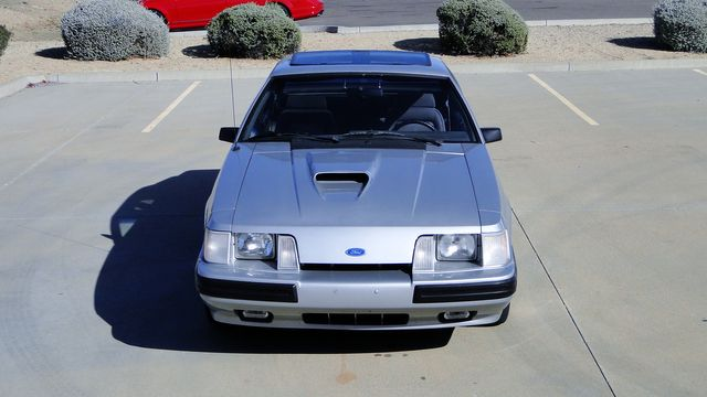 1984 Ford Mustang Turbo SVO 34,000 orig miles Phoenix, Arizona 12
