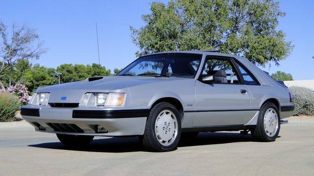 1984 Ford Mustang Turbo SVO 34,000 orig miles Phoenix, Arizona 11