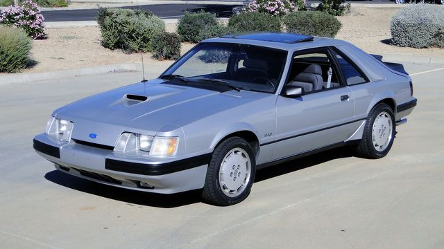 1984 Ford Mustang Turbo SVO 34,000 orig miles Phoenix, Arizona 7