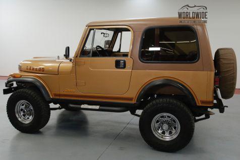 1984 Jeep CJ 4WD FACTORY 6 CYLINDER. 5-SPEED MANUAL. 4X4.   Denver, CO   Worldwide Vintage Autos in Denver, CO