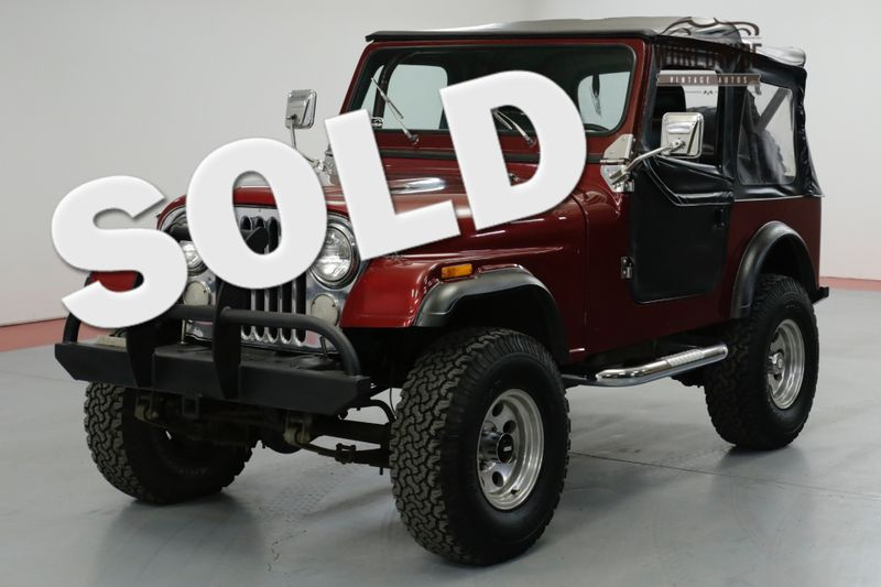 1984 Jeep CJ 4WD FRAME UP RESTORED. 360 V8! PB. PS. | Denver, CO | Worldwide Vintage Autos