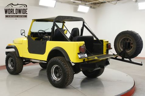 1984 Jeep  CJ7 327 CONVERTIBLE READY FOR SUMMER PS PB  | Denver, CO | Worldwide Vintage Autos in Denver, CO