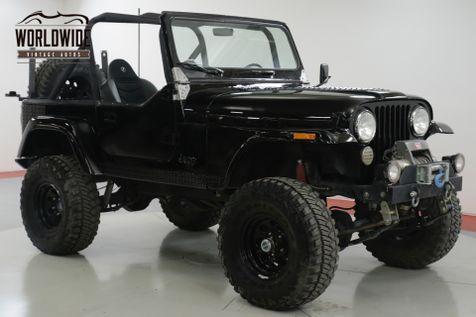 1984 Jeep CJ7  CUSTOM  | Denver, CO | Worldwide Vintage Autos in Denver, CO