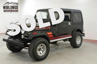 1984 Jeep CJ7 RENEGADE RESTORED 4x4 5K MILES V8! (VIP)   Denver, CO   Worldwide Vintage Autos in Denver CO