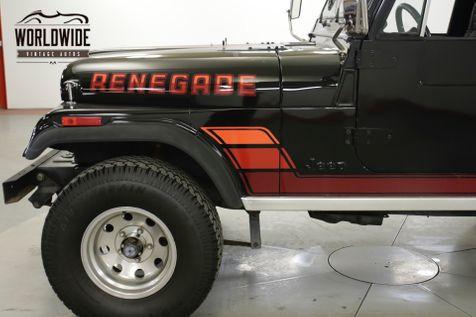1984 Jeep CJ7 RENEGADE RESTORED 4x4 5K MILES V8! (VIP) | Denver, CO | Worldwide Vintage Autos in Denver, CO