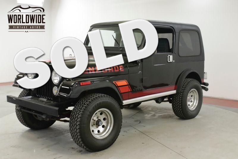 1984 Jeep CJ7 RENEGADE RESTORED 4x4 5K MILES V8! (VIP) | Denver, CO | Worldwide Vintage Autos