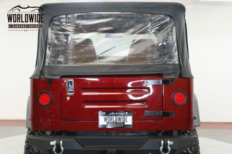 1984 Jeep CJ7  HIGH DOLLAR BUILD LT1 CORVETTE LIFT WINCH | Denver, CO | Worldwide Vintage Autos in Denver, CO