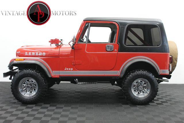 1984 Jeep CJ7 LAREDO 4X4 I6 MANUAL
