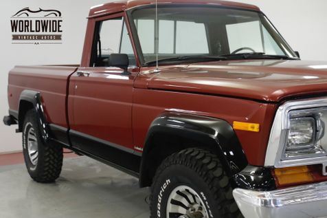 1984 Jeep J10 RARE SHORTBOX 4.2L 4X4 4-SPEED PS PB  | Denver, CO | Worldwide Vintage Autos in Denver, CO