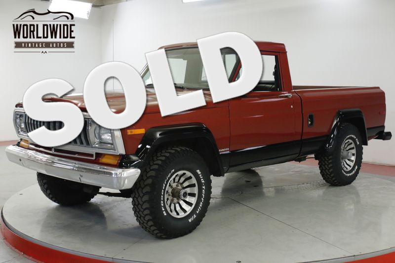 1984 Jeep J10 RARE SHORTBOX 4.2L 4X4 4-SPEED PS PB  | Denver, CO | Worldwide Vintage Autos