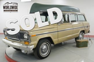 1984 Jeep WAGONEER 39K ACTUAL MILES TIME CAPSULE COLLECTOR | Denver, CO | Worldwide Vintage Autos in Denver CO