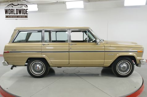 1984 Jeep WAGONEER 39K ACTUAL MILES TIME CAPSULE COLLECTOR | Denver, CO | Worldwide Vintage Autos in Denver, CO