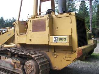 1984 Other CAT 963 CRAWLER LOADER Hoosick Falls, New York 3