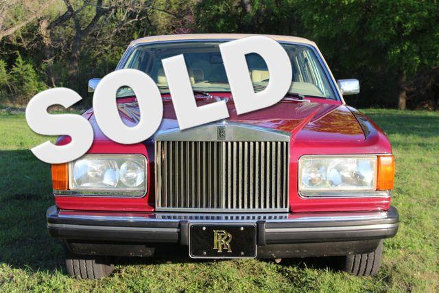 1984 Rolls Royce Silver Spur Liberty Hill, Texas