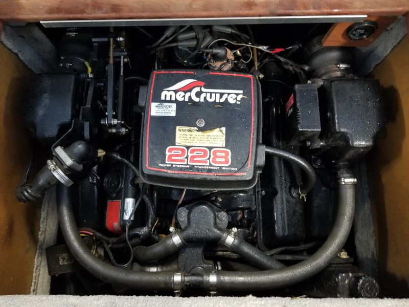 1984 Sea Ray Cuddy 210   in , Ohio