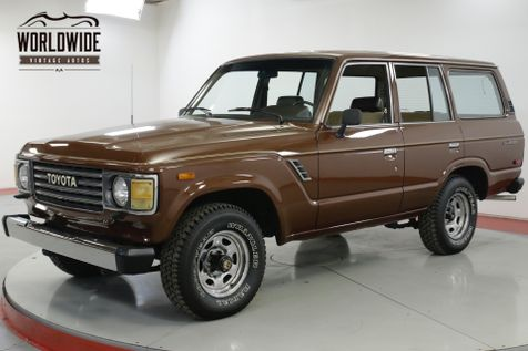 1984 Toyota LAND CRUISER FJ60 COLLECTOR GRADE CA TRUCK 91K MI 1 OWNER | Denver, CO | Worldwide Vintage Autos in Denver, CO