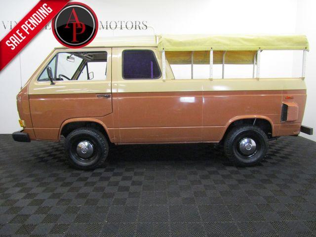 1984 Volkswagen Vanagon/Campmobile 3 DOOR TRUCK