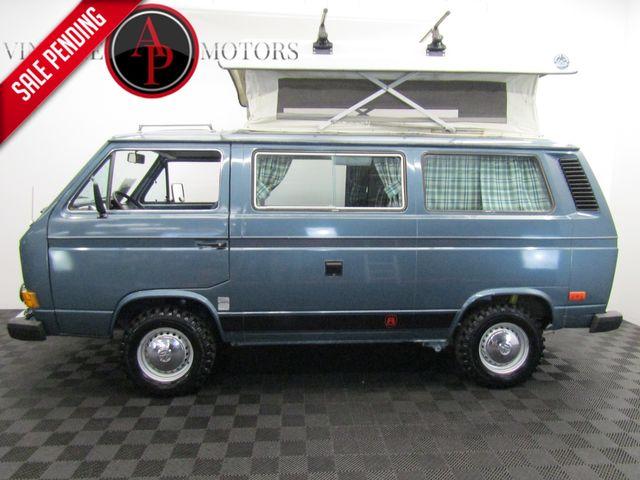 """1984 Volkswagen Vanagon RIVIERA """"COUNTRY HOME"""" 95K"""