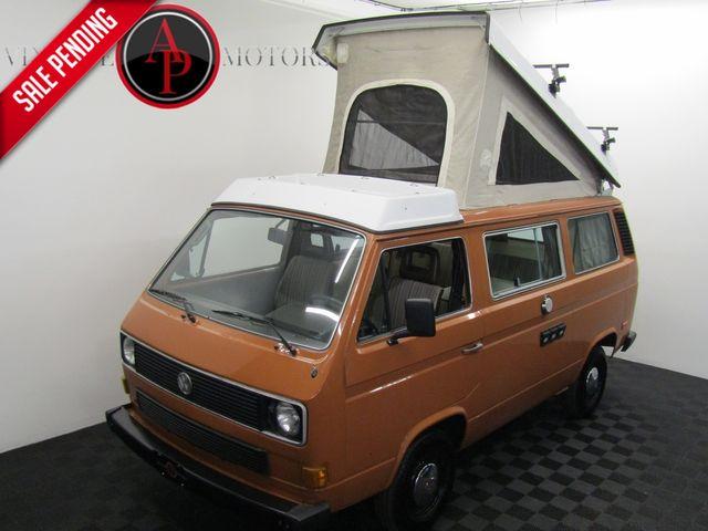 1984 Volkswagen VANAGON WESTFALIA AC AUTO