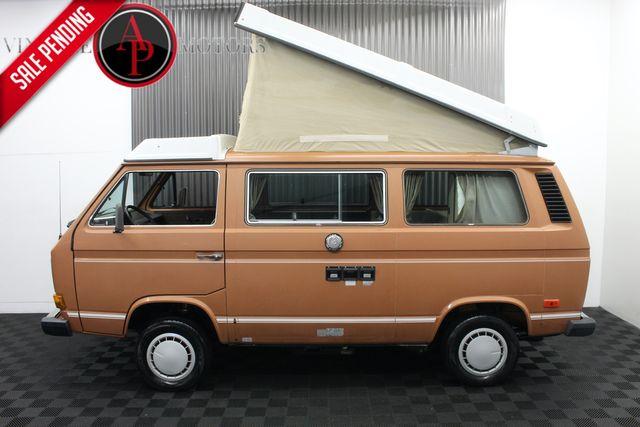 1984 Volkswagen Vanagon WESTFALIA POPTOP CAMPER